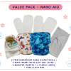 Value pack for Nano aio kindermum cloth diaper