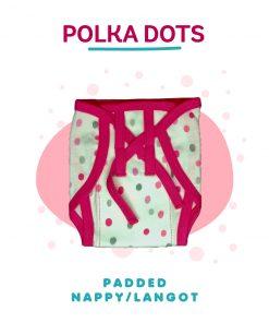 Polka dots padded langot