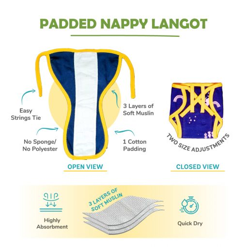 Padded langot internal